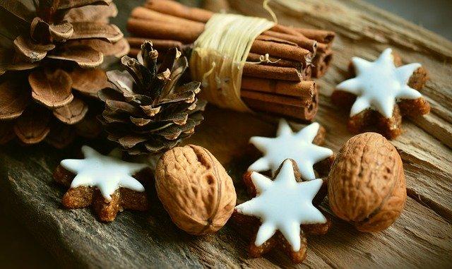 Noel étoiles cannelle